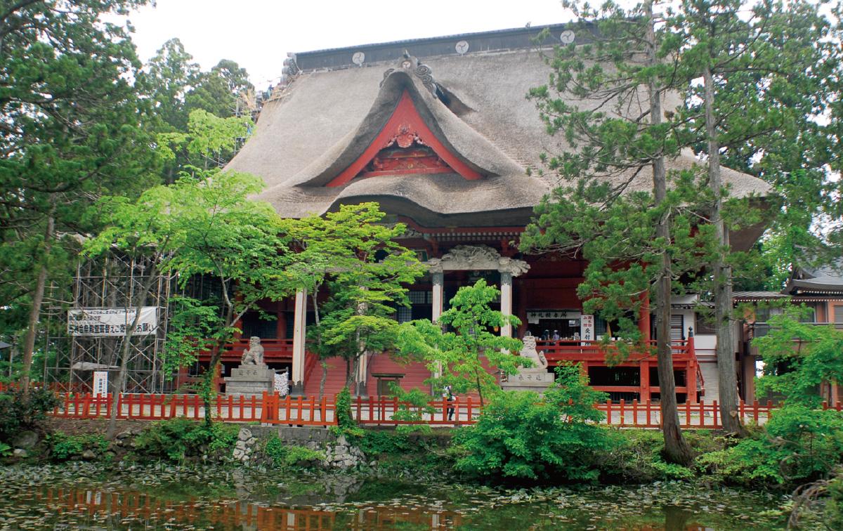 出羽三山神社(三神合祭殿)